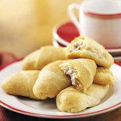 Beef-Stuffed Crescents Recipe from Taste of Home -- shared by Jennifer Bumgarner of Topeka, Kansas