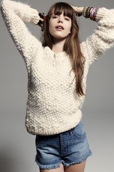 Boucle sweaters