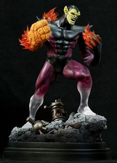 Bowen Super Skrull sculpted by Keith Kopinski