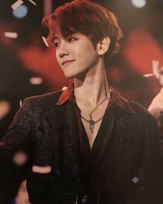 I heard he likes his lotto costume best Chanyeol, Baekhyun Hot, Kyungsoo, Kpop Exo, Exo Ot9, Taemin, Shinee, Chen, Kai