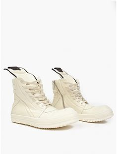 Off-White Geobasket Leather Sneakers