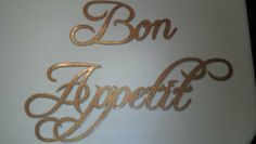 "Bon Appetit Words Hammered Copper Finish Metal Wall Art by JNJ Metalworks. $14.99. Handmade in the USA. We can create names, logos, words and more.. Rust Resistant Paint. High Quality Steel Construction. Custom Orders Available Contact Us For Details. Metal Wall Art Decor Bon Appetit Words, Made Of High Quality Steel Very Sturdy, Painted Hammered Copper, In New Condition. They Measure Bon 7 "" Long By 4"" Tall, And Appetit 13 1/4"" Long By 5"" Tall. Check out my other items! Be su..."