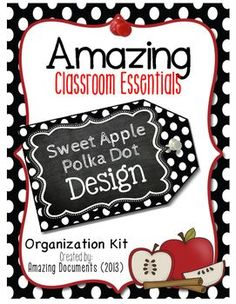 Our highest downloaded free resource is updated with a new design! January 2016 - Enjoy!Amazing Classroom Essentials - Sweet Apple - FREECheck out these amazing items included in this store! Interactive Reading Comprehension Notebook  Bundle 1     Interactive Reading Comprehension Notebook  Bundle 2    This product has over 225 pages of display pieces that you can utilize in your classroom! (Alphabet display pieces are intended for decor, storage, bulletin board display pieces only.