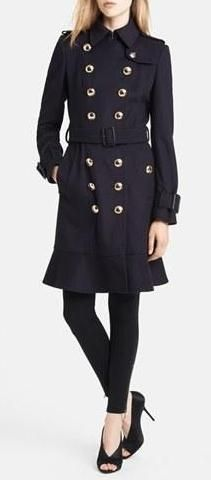 Cashmere, military style trench from Burberry London
