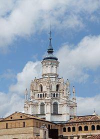Cimborrio de la Catedral de Tarazona, Zaragoza.