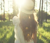 Inspiring picture blonde, girl, light, nature. Resolution: 500x332 px. Find the picture to your taste!