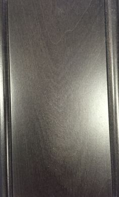 Kitchen Island Cabinet Finish- Storm Stain on 594-4 door profile on maple, Eudy Cabinets