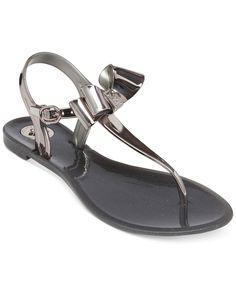 BCBGeneration Delightful Bow Flat Thong Sandals
