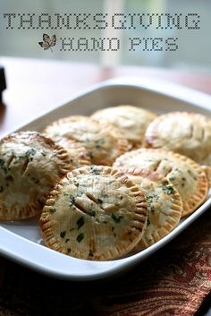 Remix Your Thanksgiving Leftovers- Thanksgiving Hand Pies!