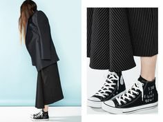 Pinstripes and Converse
