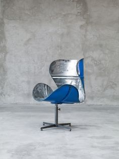 Chair made from an oil drum! love it. OLSSON & JENSEN INREDNING