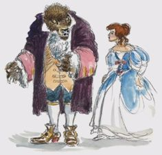 Beauty and the Beast - Disney - Concept Art