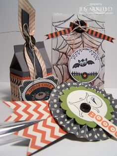 Stampin' Up! Halloween  by Jen Arkfeld at Stamped Silly