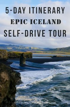 """Check this """"5-Day Itinerary For An Epic Iceland Self-Drive Tour"""" and you might give in to your wanderlust!"""