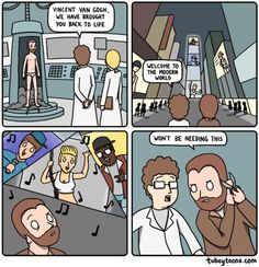 What if We Brought Vincent Van Gogh Back From the Dead? [Comic]