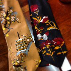 Two beauties-polyester neckties
