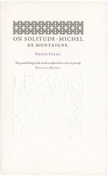 44 best musicfilmbooks images on pinterest film books music michel de montaigne on solitude fandeluxe Gallery