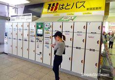 a3ada81927 Coin lockers at the East Exit Japan Trip, Japan Travel, Lockers, Locker  Storage