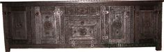 """$1700  New arrival An exotic and one of a kind african carved cabinet, made of cedar, all hand carved in Morocco. A great add to any home decor and a great find. Great workmanship    Measurements: 87"""" 1/4x 27 5/8"""" x 18"""" 1/4  Special order is available  Shipping will apply, please email us your zip for shipping quote"""