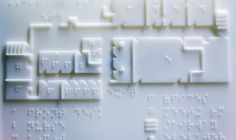 A 3D PRINTER MADE THIS BRAILLE MAP