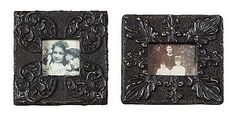 """MDF & PLASTER PHOTO FRAME FOR A 3.5"""" X 5"""" PHOTO, 9.5""""L X 8.25""""H"""
