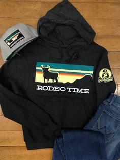 c10c8558d2650 Dale Brisby Sunset Rodeo Time Hoodie