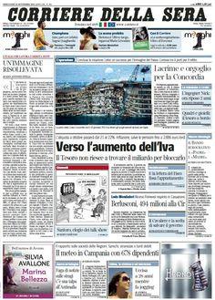 Il Corriere della Sera (18-09-13)
