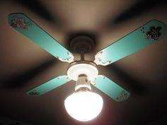 paint the ceiling fan