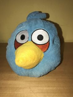 "Angry Birds Blue Plush Animal Doll 8"""