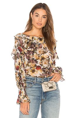 Shop for Bailey 44 Once Upon A Time Floral Top in Floral Print at REVOLVE. Free 2-3 day shipping and returns, 30 day price match guarantee.