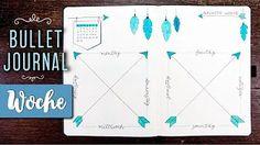 Wochenübersichten im Bullet Journal: Hier erfährst du, wie du Wochenübersichten in deinem Bullet Journal nutzen kannst und außerdem zeige ich dir praktische Layoutideen, mit denen du sofort mit der Planung loslegen kannst! Bujo, Bullet Journal 2019, Lounge, Map, Youtube, Bullet Journal Ideas, Crafting, Airport Lounge, Drawing Rooms