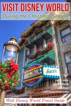 Ultimate Disney World at Christmas Guide - Disney Holiday Celebrations Disney World Tickets, Disney Vacations, Walt Disney World, Disney Travel, Disney World Christmas, Disney On A Budget, Disney World Planning, Disney World Tips And Tricks