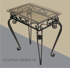 Кованая мебель по ценам от завода изготовителя Iron Console Table, Dining Table Legs, Iron Furniture, Blacksmithing, Apollo, Chair Design, Wrought Iron, End Tables, Interior Design