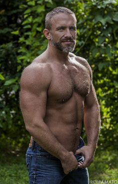 "manly-muscular-machos: MUSCLE DADDY: ""Jack"" AKA Dirk Caber, photographed by Ron Amato. MALE GAZE: Manly Muscular Machos and More! The Bear Underground Archive 9000+ posts of the hottest hairy men around the globe."