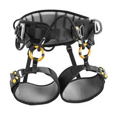 Petzl's 2014 Sequoia Harness | Tree Climbing Saddle | Safety Harness