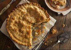 Receita: Torta de frango cremosa