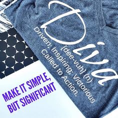 Make it simple, but significant. #quote #DivaDefined . . . . . . . . . . . . . #DivatudeCollection #DivaDefined #ColumbiaSC #Tshirt #tshirtoftheday #support #divaowned #qotd #quotes #instaquote #homebasedbusiness #diva #quoteoftheday