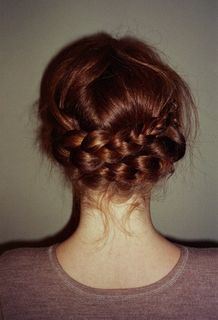 I really need to learn to better braid hair... that is so beautiful