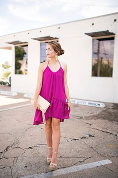 A Magnificent Magenta By Lonestar Southern Date Outfits, Lila Outfits, Date Outfit Summer, Purple Outfits, Night Outfits, Purple Dress, Dress Outfits, Casual Outfits, Summer Outfits