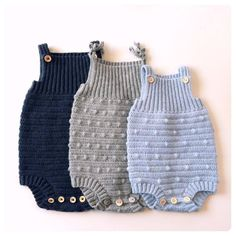 BabyE – romper – Knitting For Beginners Crochet Baby Bloomers, Crochet Romper, Crochet Baby Cardigan, Crochet Bebe, Baby Blanket Crochet, Knitting For Kids, Knitting For Beginners, Baby Knitting Patterns, Crochet For Kids