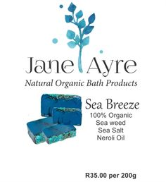 Sea Breeze 100% Organic Soap