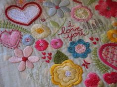 @ Making It Up As I Go Along...: beautiful embroidery