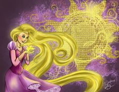 Rapunzel by onewingedtenchi on deviantART
