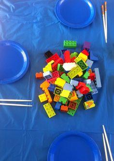 Wooloo | Une fête d'enfants sous le thème des Lego