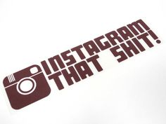 instagram that Sht Sticker Decal Stickerbomb by StickerBombCom Checkout #StickerBomb #BubbleFree #VinylWrap from http://www.rvinyl.com/Sticker-Bomb-001.html!