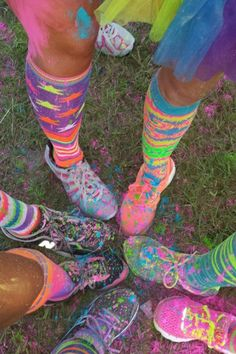 "Color Run ""Team Get Waisted"""