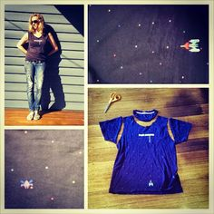 Space Invader Tee #Refashion