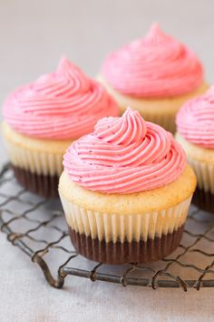 Neapolitan Cupcakes | Cooking Classy