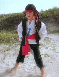 Pirate Pirates Boy Halloween Costume