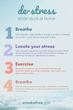 Stress and bad moods are normal parts of life, but too much of either creates more problems. Managing these tough times is a key part of Use these tips to de-stress while stuck at home. Nicotine Patch, Quit Smoking Tips, Coping With Stress, Bad Mood, Do You Feel, Tough Times, Challenges, Key, How To Plan